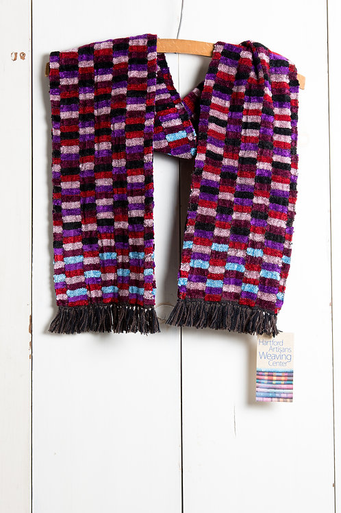 Double Weave Chenille Scarf