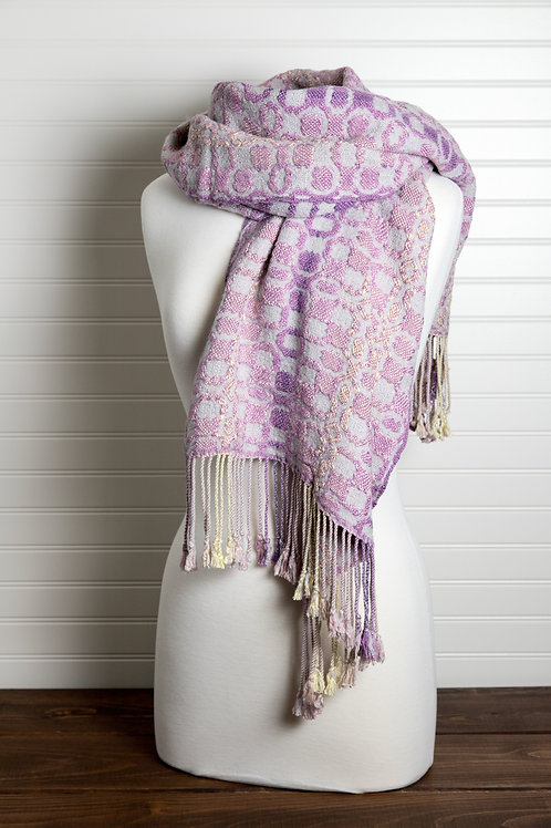 Deflected Double Weave Shawl for Warmth!