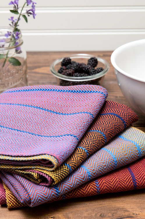 Herringbone Twill Cotton Towels