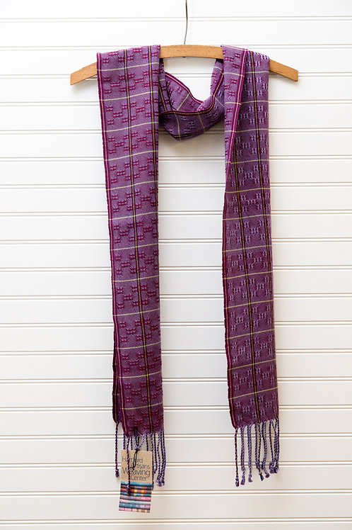 Lace Scarf in Shades of Purple