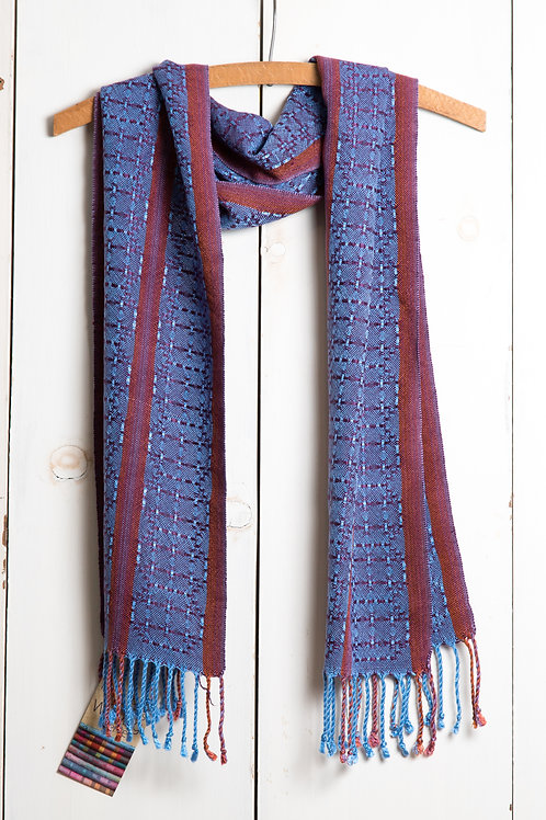 Bronson Lace Striped Scarf