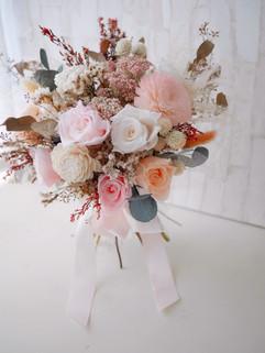 永生花+乾燥花