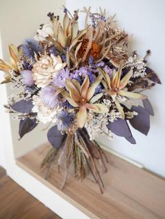 乾燥花(莫蘭迪紫)
