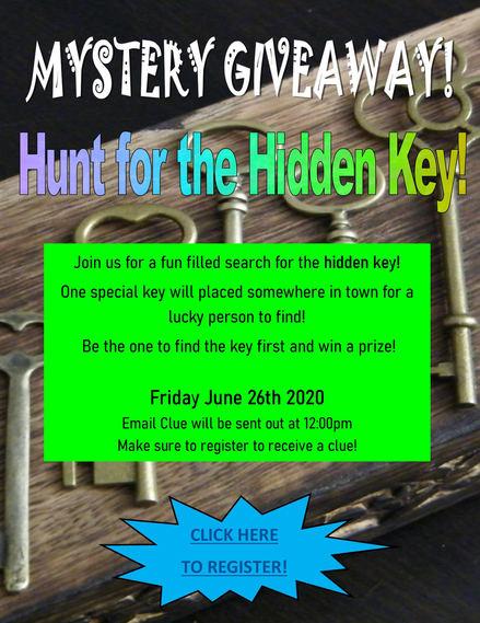 Hunt for the Hidden Key