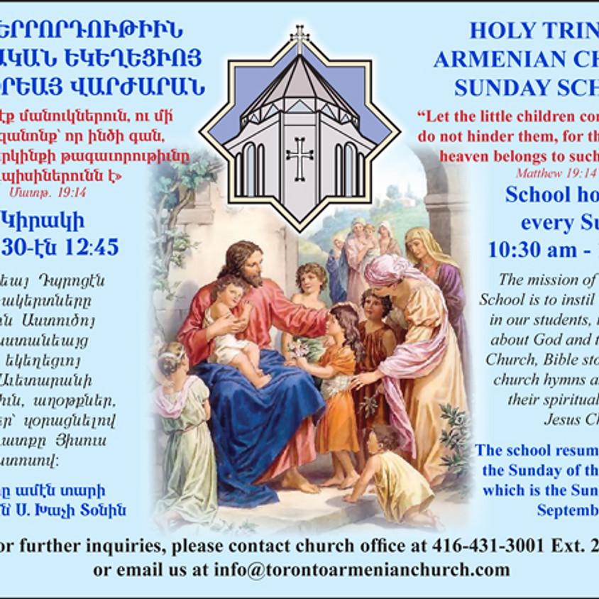 Armenian Church Sunday School