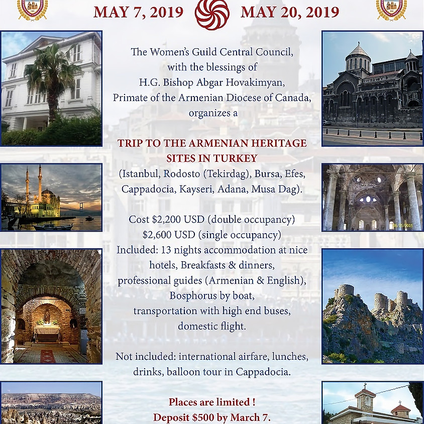 Trip to the Armenian Heritage Sites in Turkey