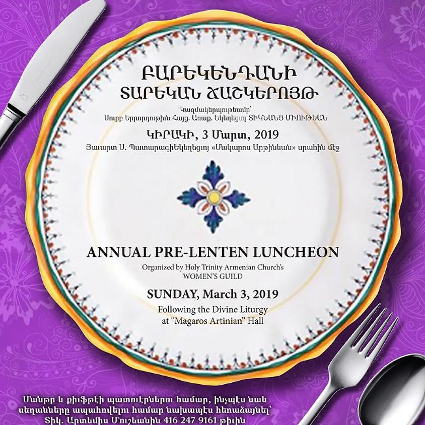 Annual Pre-Lenten Luncheon