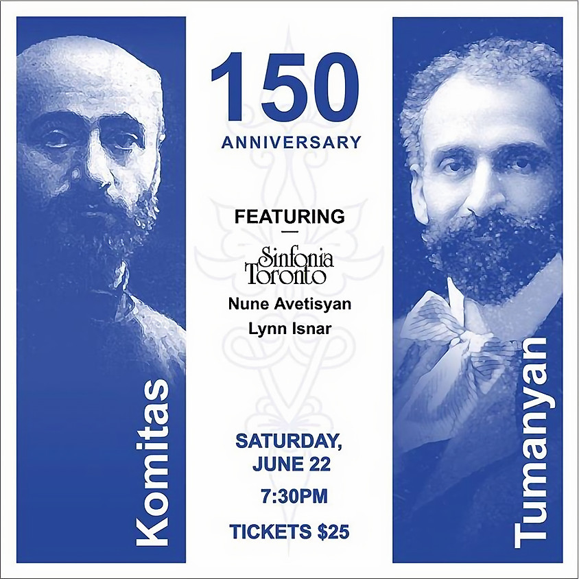 150th Anniversary Celebration of Komitas and Tumanyan