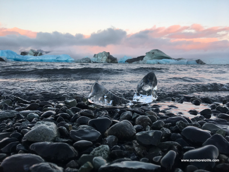 Jökulsárlón Glacier and Diamond Beach