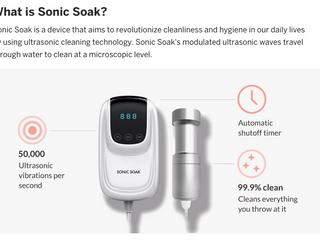 Sonic Soak - a great new invention?