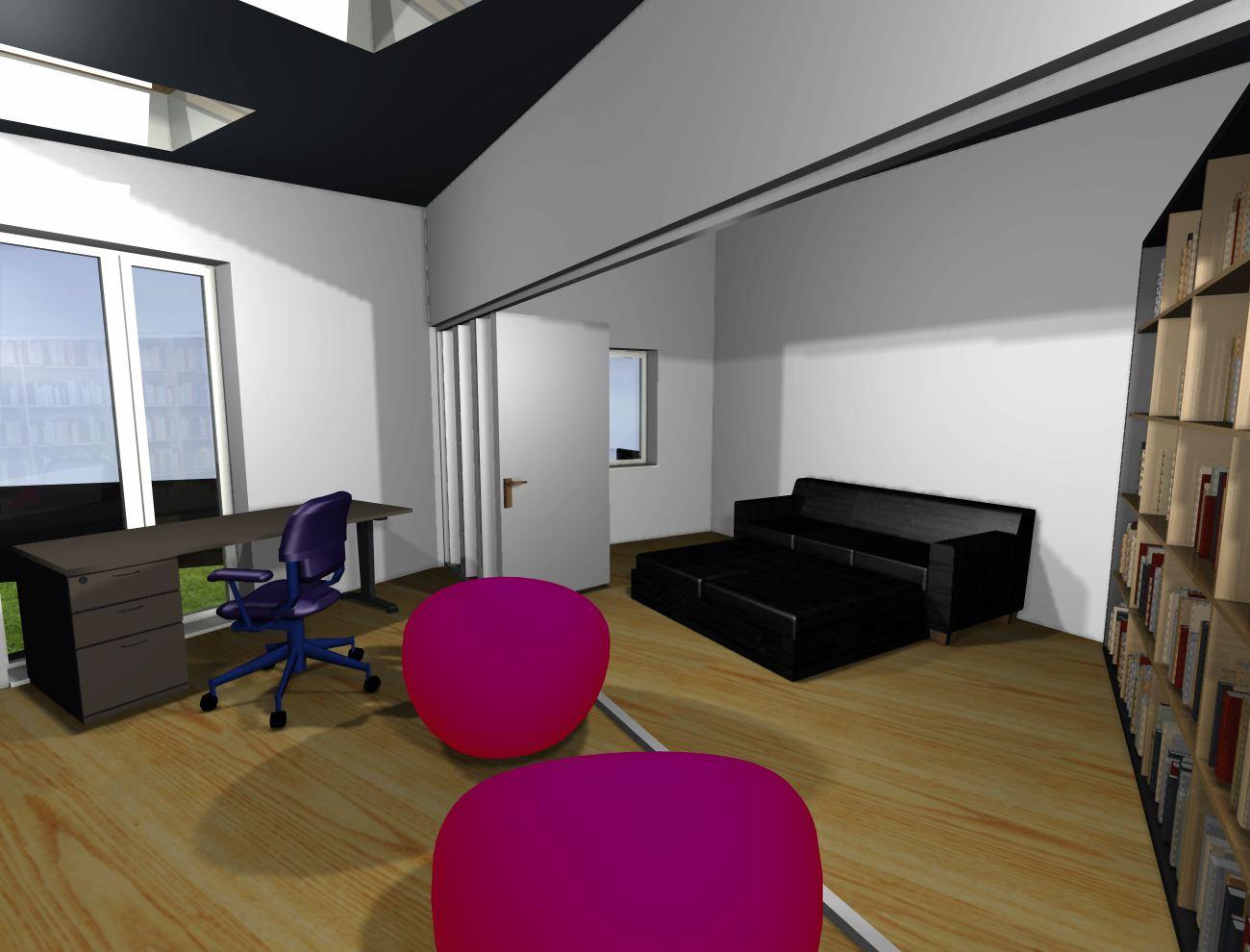bedroom sitting