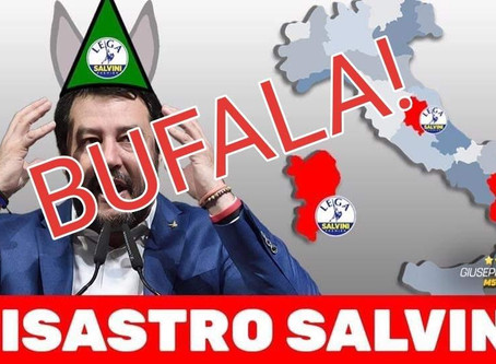 Disastro Salvini? (ma anche no!)