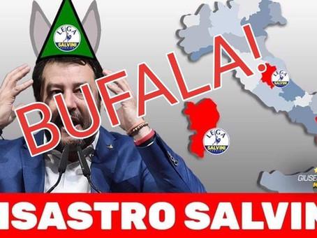 Disastro Salvini? (ma anche no!)