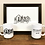 Thumbnail: Home Drawing On Two 11 Oz Coffee Mugs With Unframed Print
