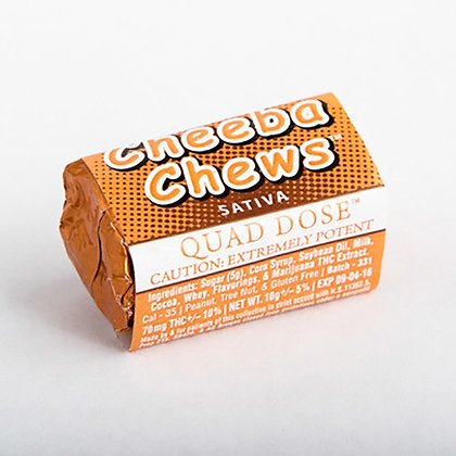 copy of Cheeba Chews Quad Dose Sativa (70 mg)