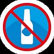 Icono no botellas