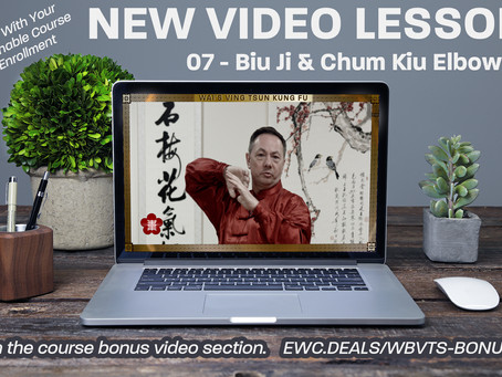 News: Lesson 07 Uploaded To The Online Course