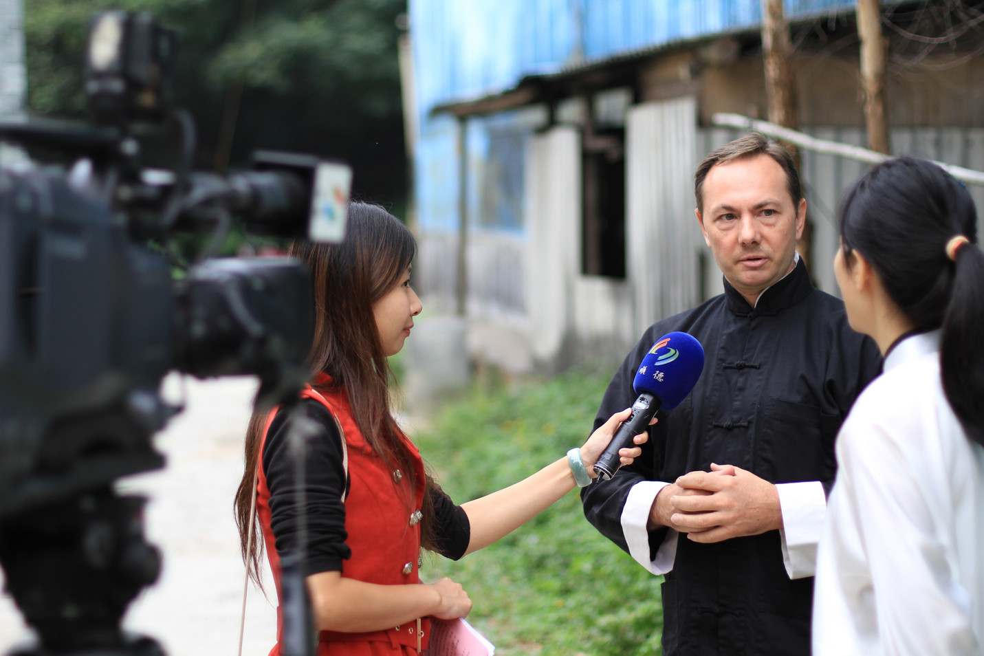 Chinese Media Interview