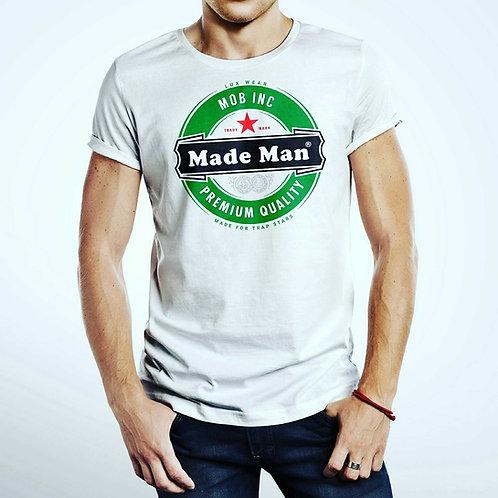 Made Man Tee. Mob Clothing.