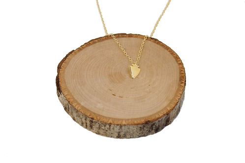 Arrowhead Necklace - Gold ($56) or Sterling ($46)