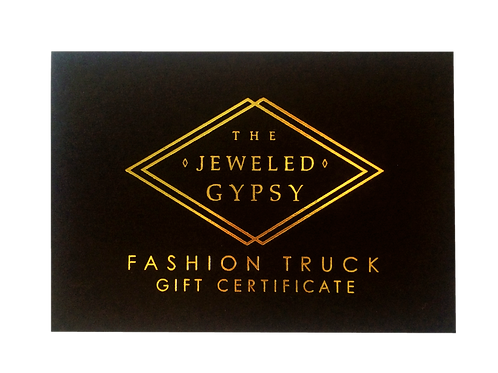 The Jeweled Gypsy Gift Card ($25)