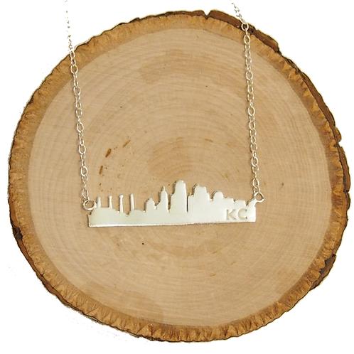 KC Skyline Necklace - Sterling Silver