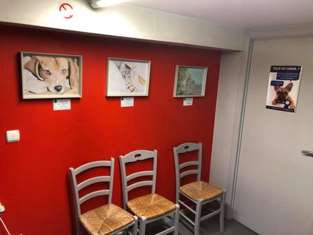 Exposition de 3 dessins à Barvaux