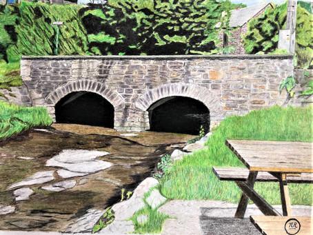 Petit pont à Marcourt.