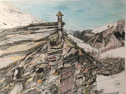 Bergerie en montagne