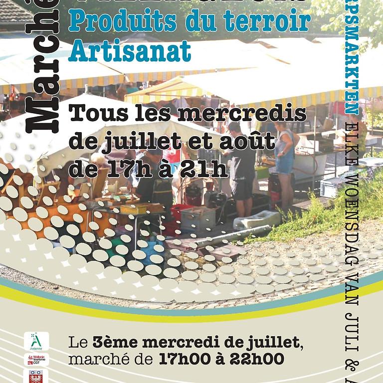 Marché artisanal de Marcourt (1)