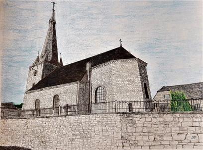 Eglise St Pierre Melreux _ VENDU
