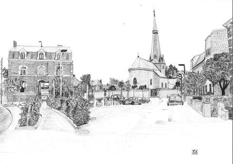Place St Pierre Melreux - VENDU