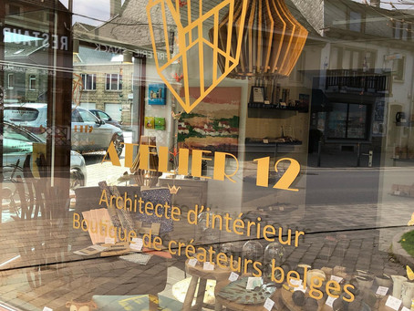 Nouvelle collaboration avec Atelier 12 de Barvaux
