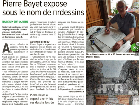 Article de presse dans l'Avenir Luxembourg du 11 juin 2021