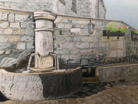 Mariage de la pierre et de l'eau : Ny
