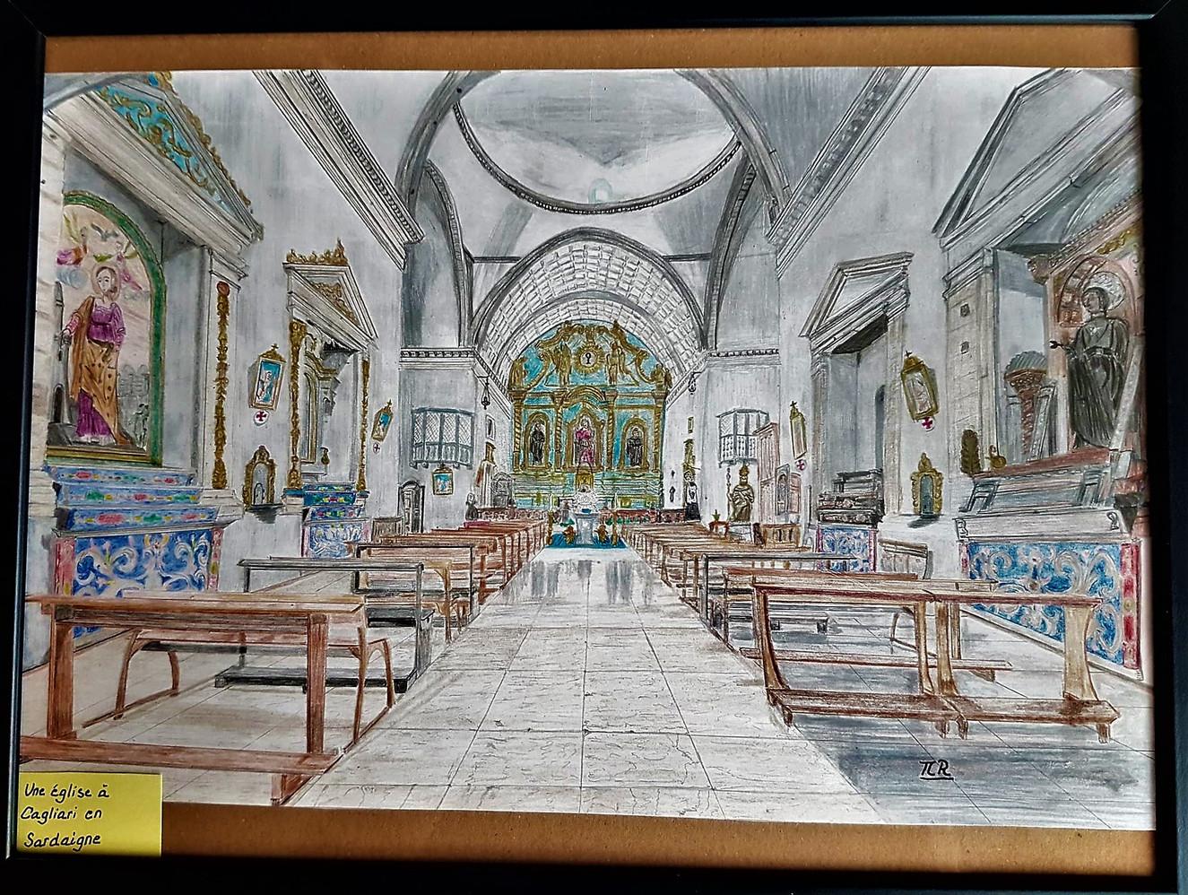 Eglise de Cagliari