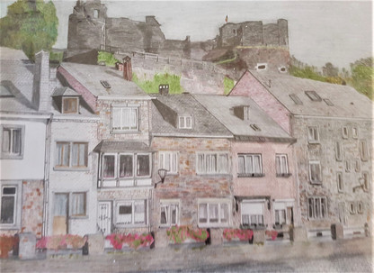Vue de La Roche-en-Ardenne