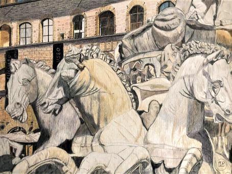 Fontaine de Neptune - Piazza della Signoria (place de la Seigneurie) - Florence