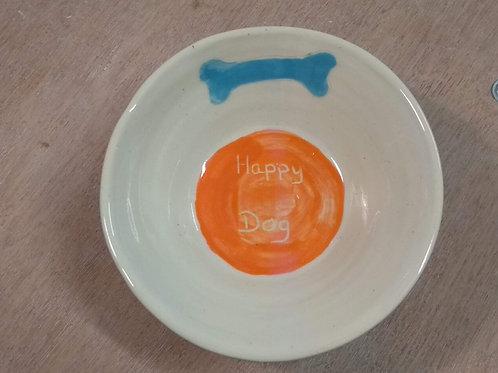 """Gamelle pour chien """"Happy Dog"""" (Chien heureux)"""
