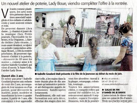 Article du Midi libre de samedi