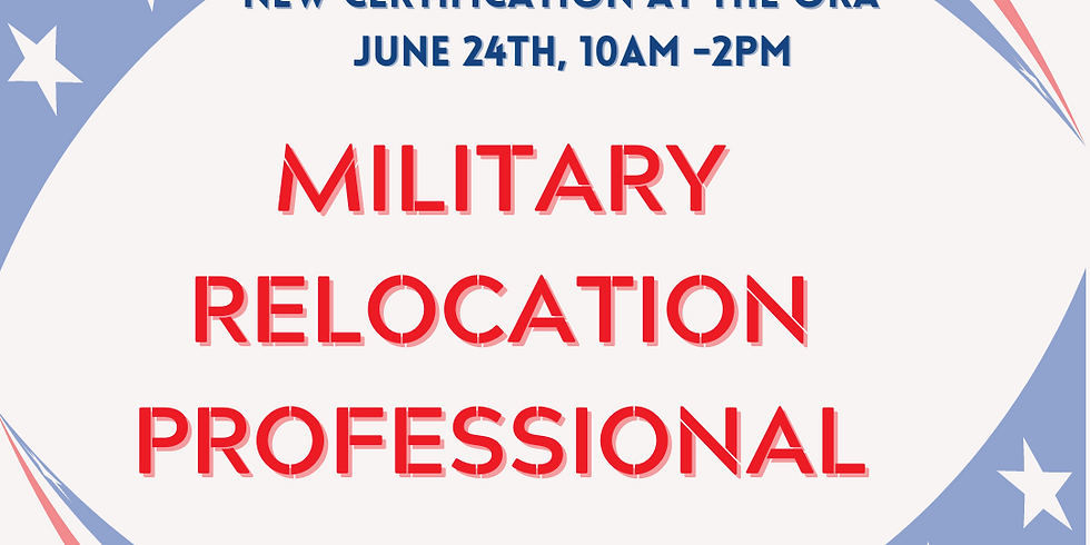 Military Relocation Professional Certification