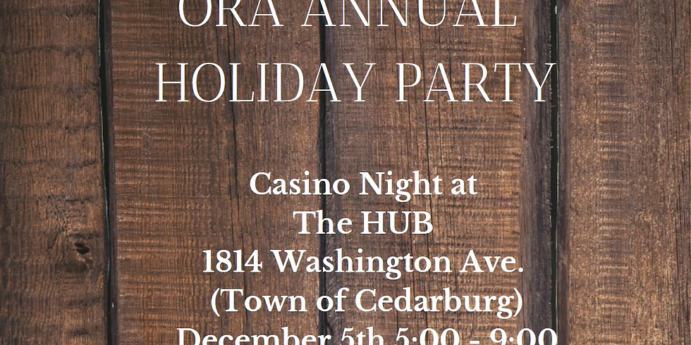 ORA 2019 Holiday Party