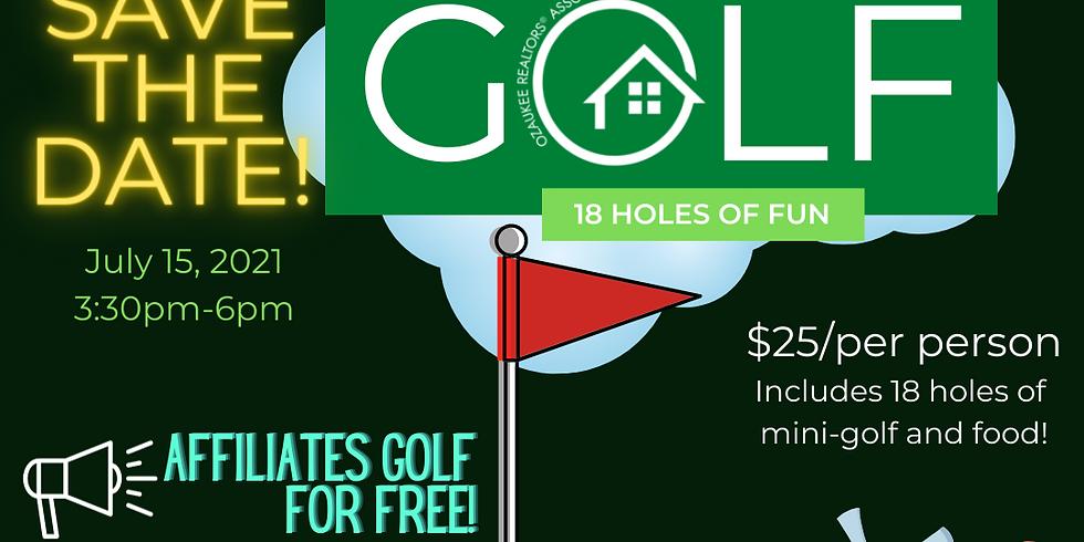 ORA Mini Golf Outing 2021