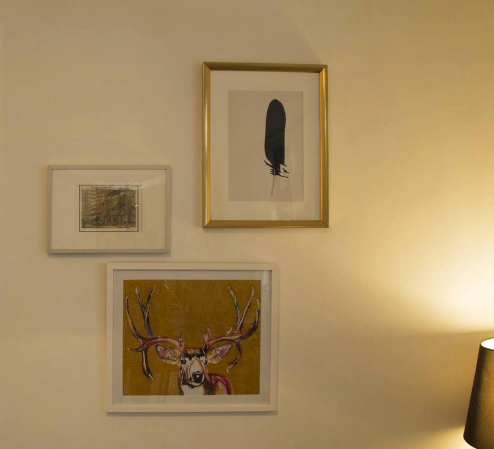 """""""Mr Deer"""" in a sitting room"""