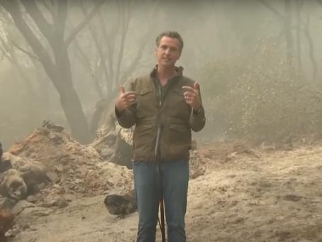 California Gov. Gavin Newsom on climate emergency: 'California is America fast forward'