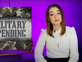 Divided State of America's Heather Gardner calls out wasteful United States military spending
