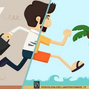 FERIE: IL DATORE DI LAVORO PUO' OBBLIGARE IL DIPENDENTE AD USUFRUIRE DELLE FERIE?