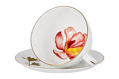 """Чашка с блюдцем """"Magnolia"""" 0.25л"""