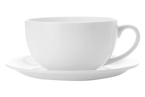 """Чашка с блюдцем """"Кашемир"""" 0.35л"""
