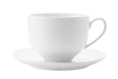"""Чашка с блюдцем """"Даймонд"""" 0,22л."""